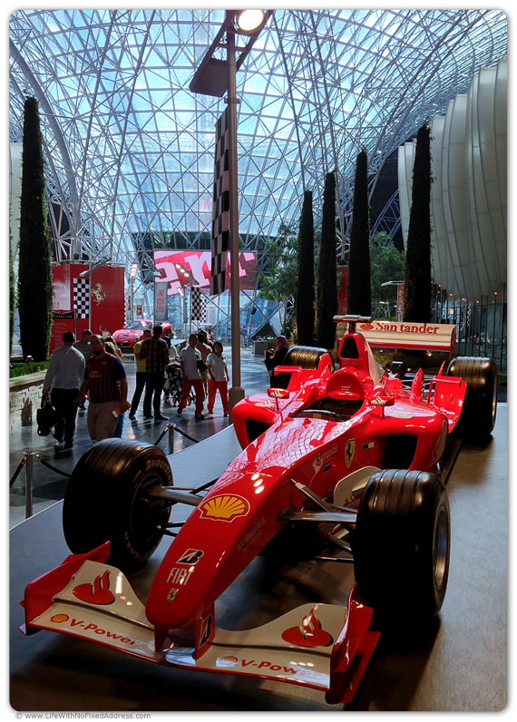 MacGyver Takes Podium at Ferrari World Grand Prix