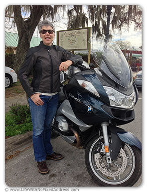 Are we Vespa people or BMW people? We tried on the BMW for three days, test driving it around Southern Florida. And I like it, but there are several hoops to jump, including an engeering and design project, before this becomes a reality.
